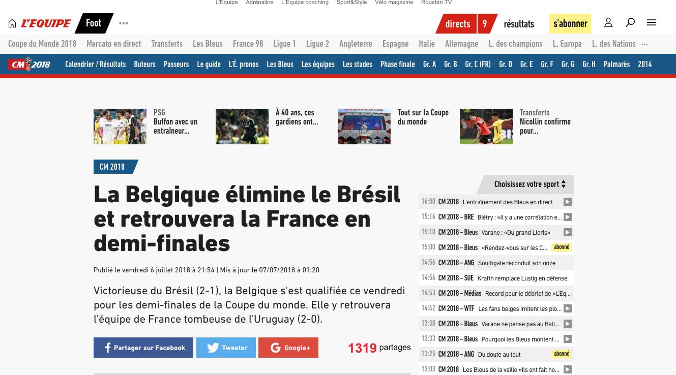 Фото: © скриншот lequipe.fr
