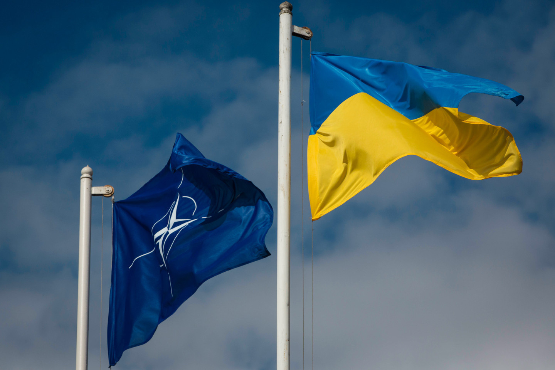 <p><span>Флаги НАТО и Украины.&nbsp;Фото:&nbsp;&copy; РИА Новости/Михаил Маркив</span></p>
