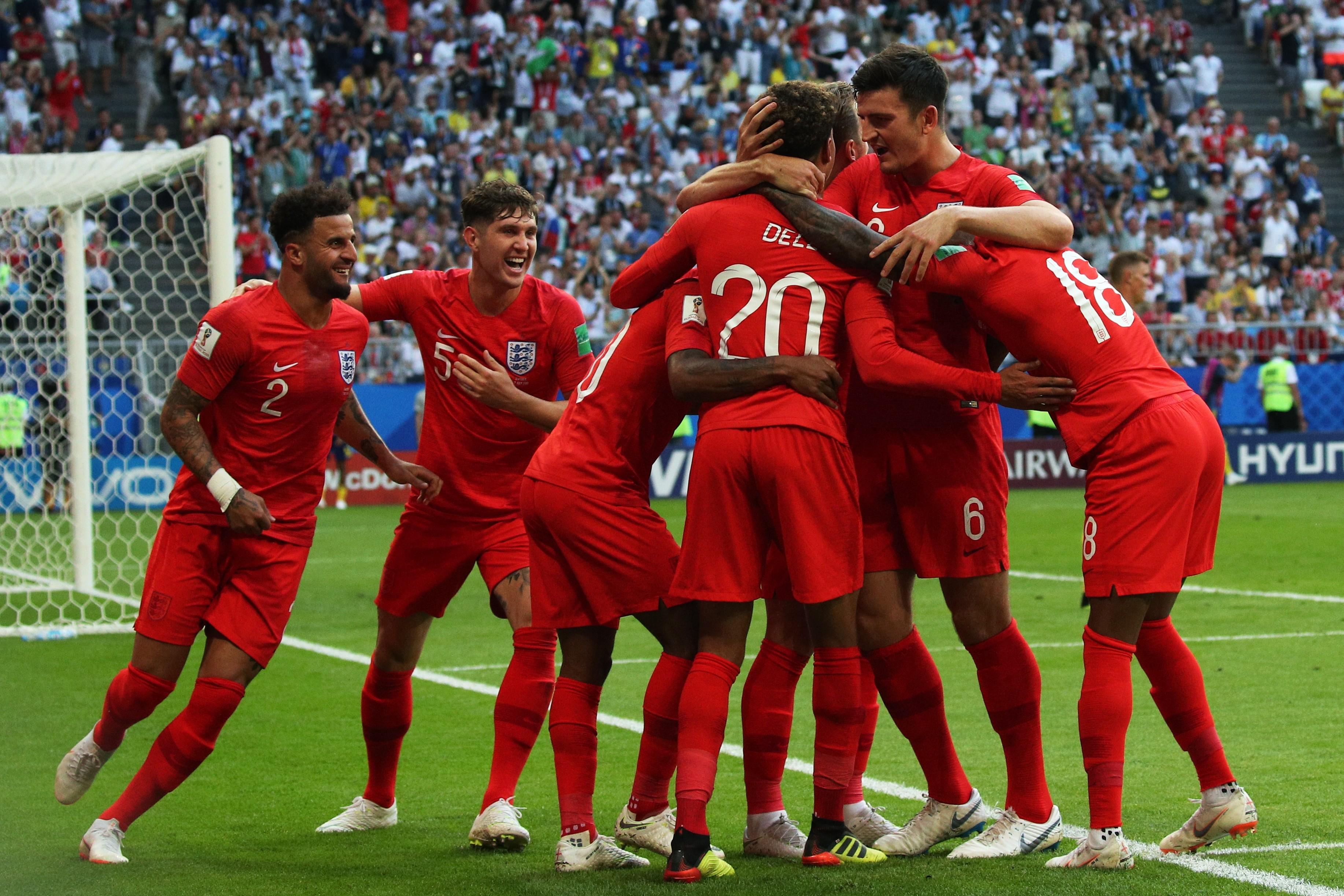 Английская песня футбола
