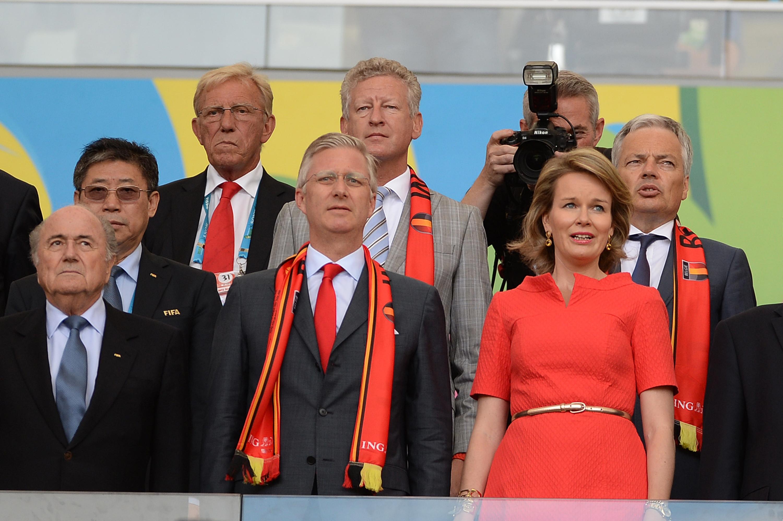 <p><span>Экс-президет ФИФА Йозеф Блаттер, король Бельгии Филипп и королева Матильда (слева направо).&nbsp;</span>Фото: &copy;РИА Новости/Алексей Филиппов</p>