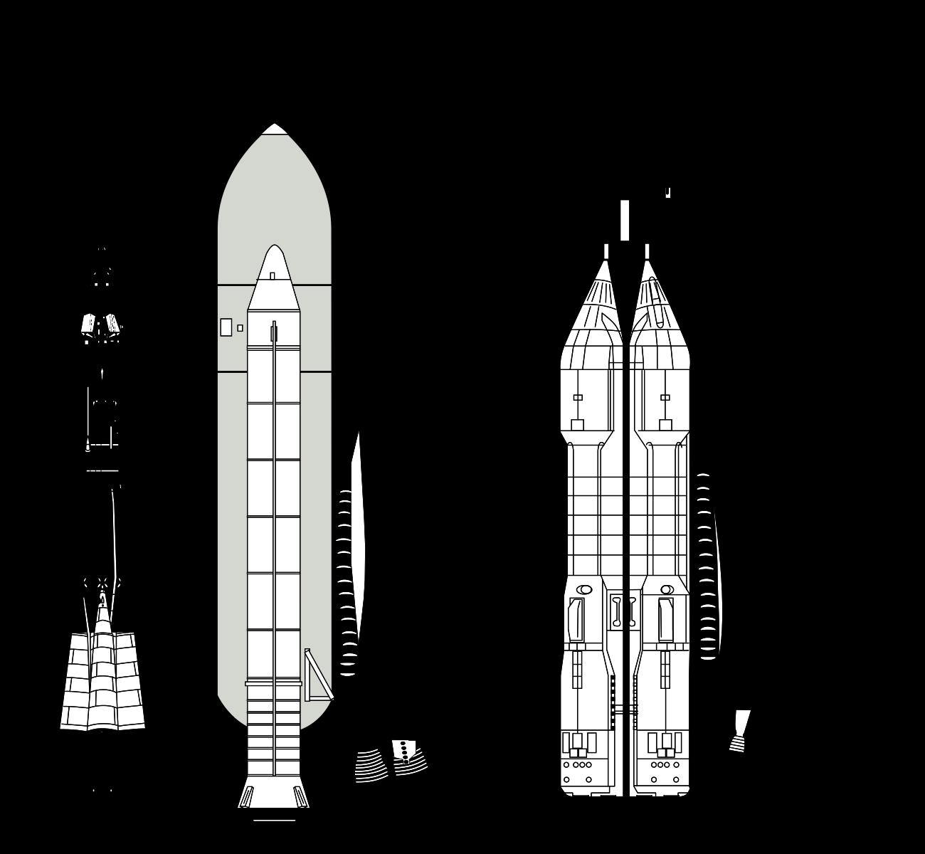 """Союз"", ""Спейс шаттл"" и ""Энергия-Буран""― сравнение. Фото: © Wikipedia.org"