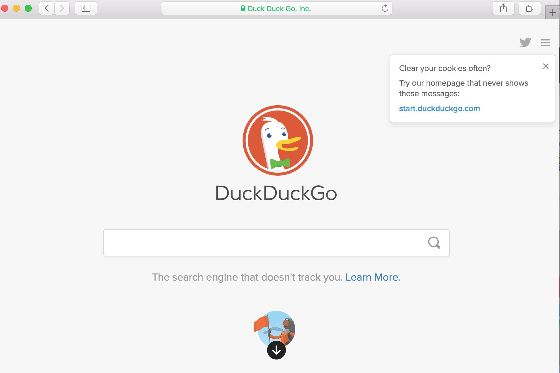 Скриншот @ duckduckgo.com
