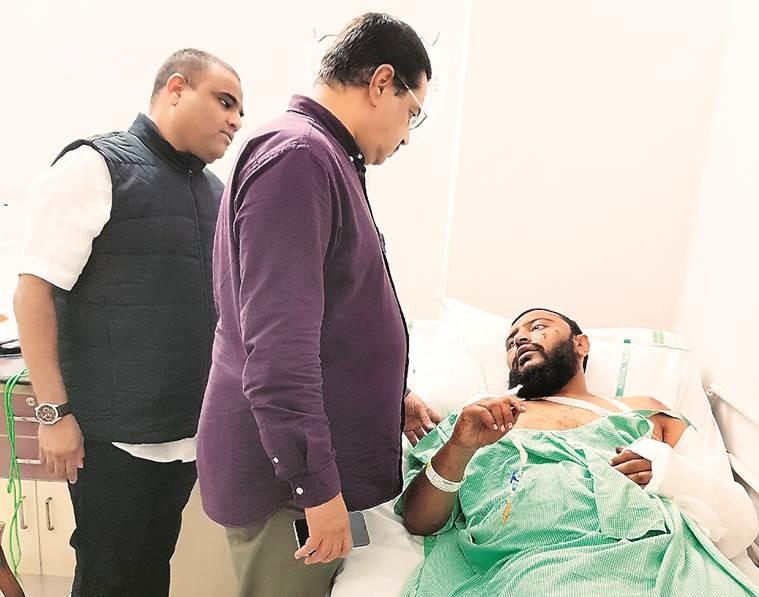 Гражданин Катара Салхам Эйдаль Кубаиси. Фото: Indian Express