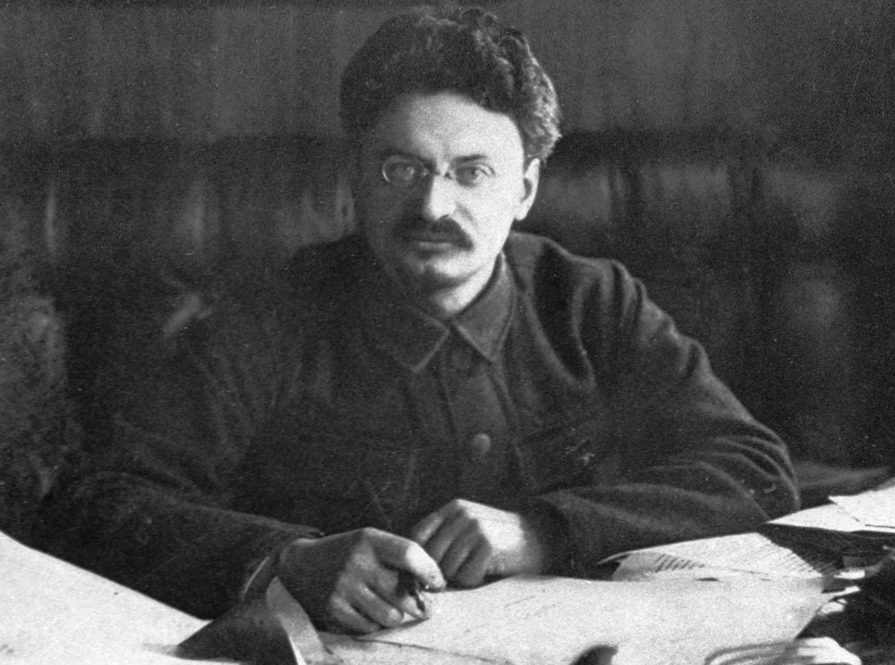 Лев Давидович Троцкий. Фото: ©РИА Новости
