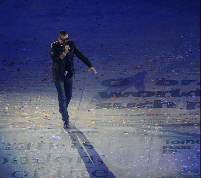 <p>Джородж Майкл.&nbsp;<span>&nbsp;Фото: &copy; РИА Новости/Александр Вильф</span></p>
