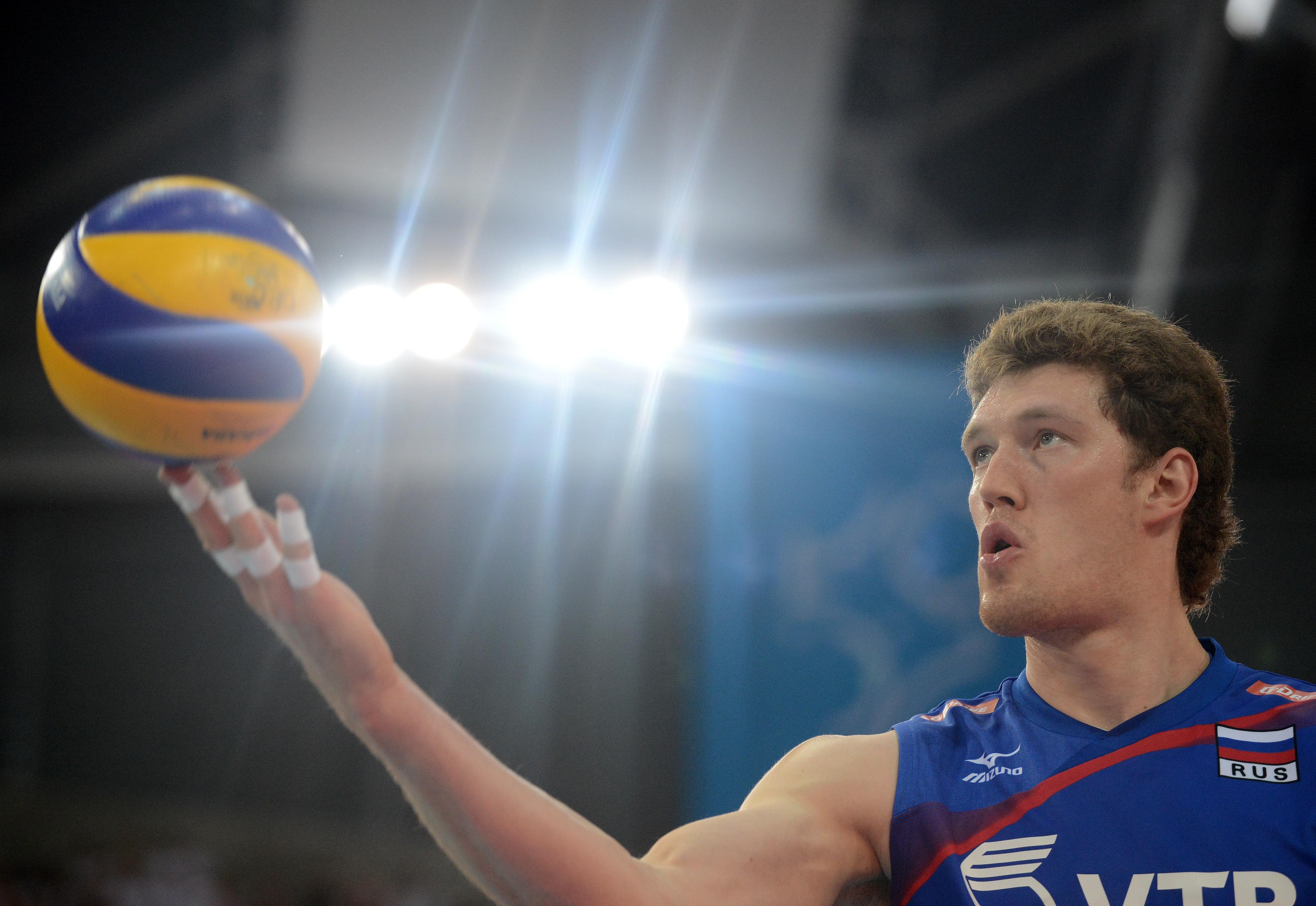 <p>Волейболист Дмитрий Мусэрский. Фото: &copy; РИА Новости/Евгений Биятов</p>