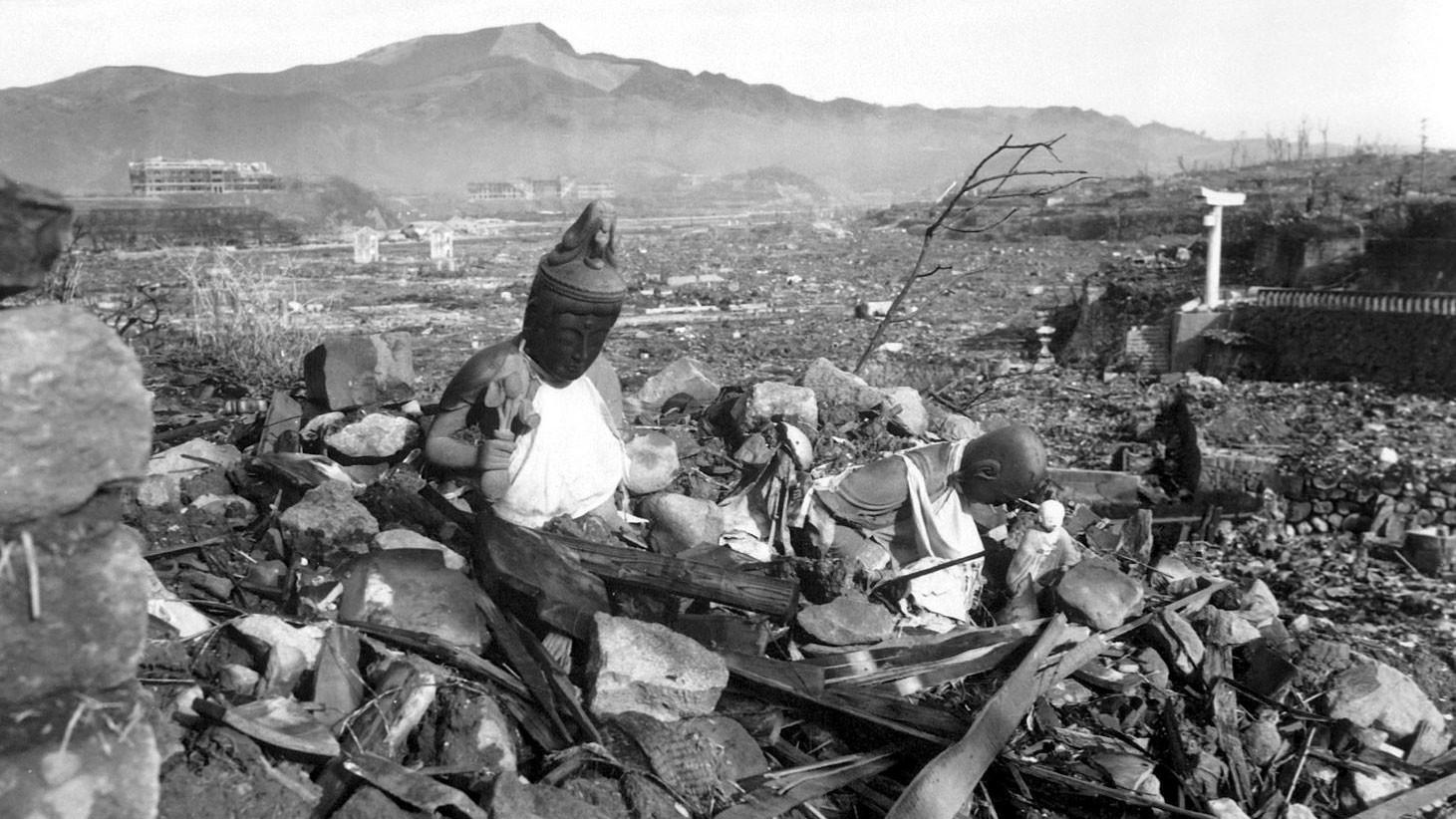 Разрушенный храм в Нагасаки. Фото: © wikipedia.org