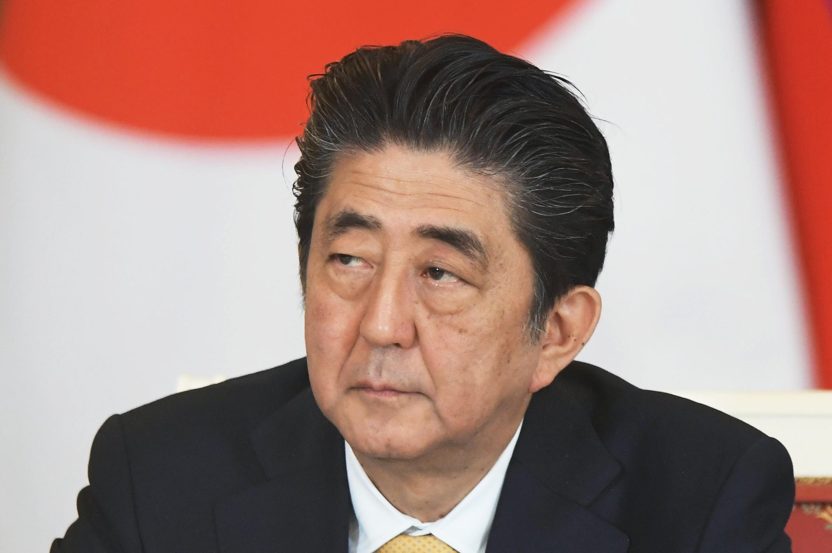 <p>Премьер-министр Японии Синдзо Абэ.&nbsp;Фото: &copy; РИА Новости / Сергей Гунеев</p>