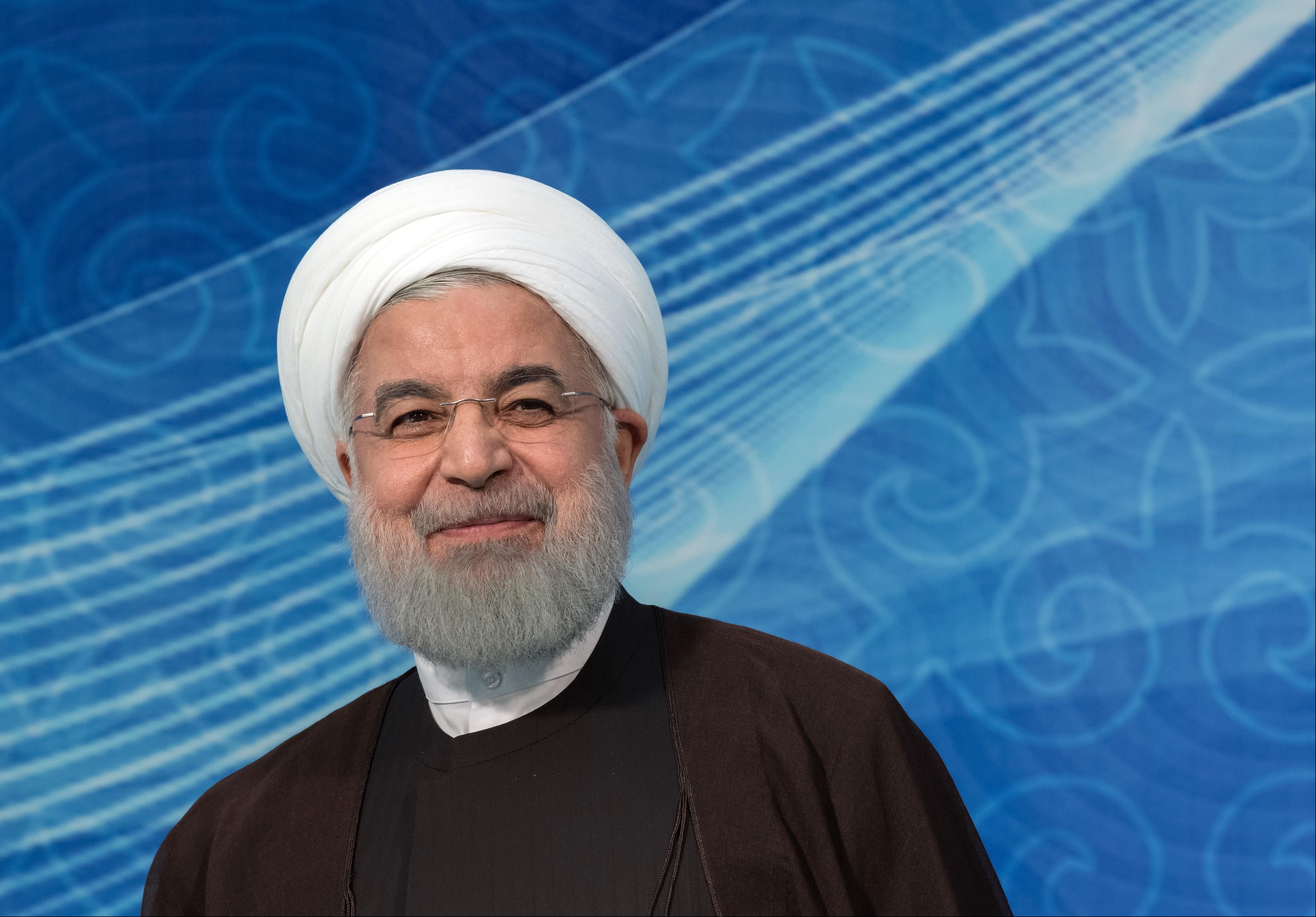 <p>Хасан Рухани. Фото: &copy;РИА Новости/Сергей Гунеев</p>