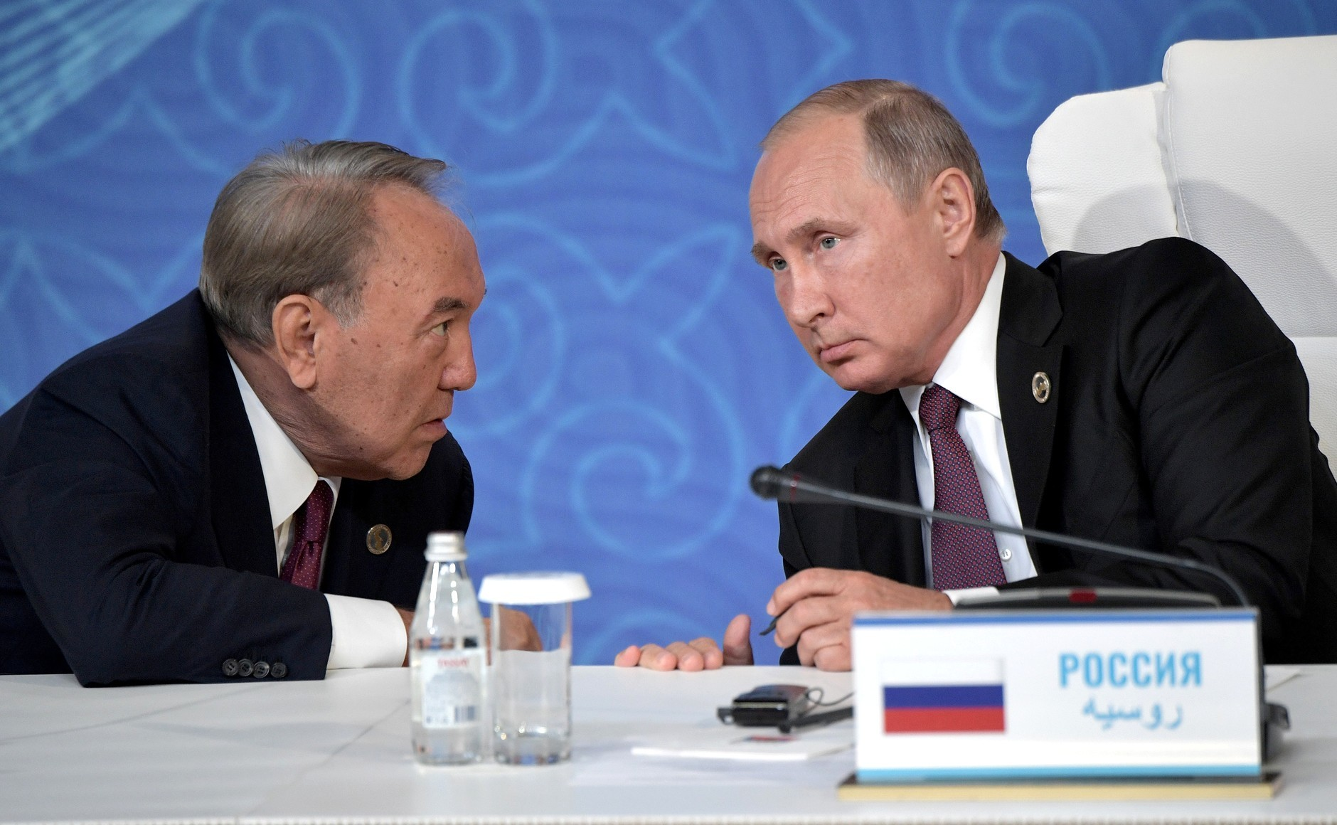 <p>Нурсултан Назарбаев и Владимир Путин. Фото: &copy;Официальный сайт президента России</p>