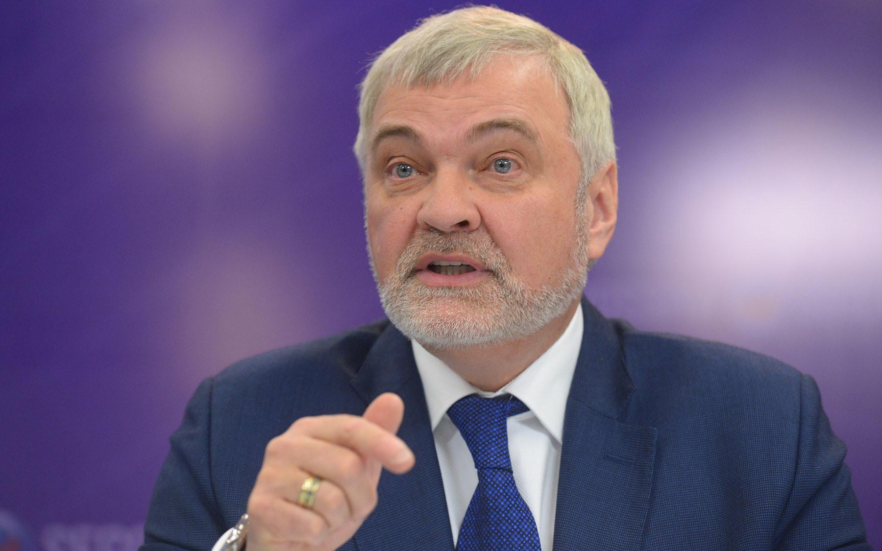 Руководитель Федерального медико-биологического агентства Владимир Уйба. Фото: © РИА Новости / Владимир Трефилов