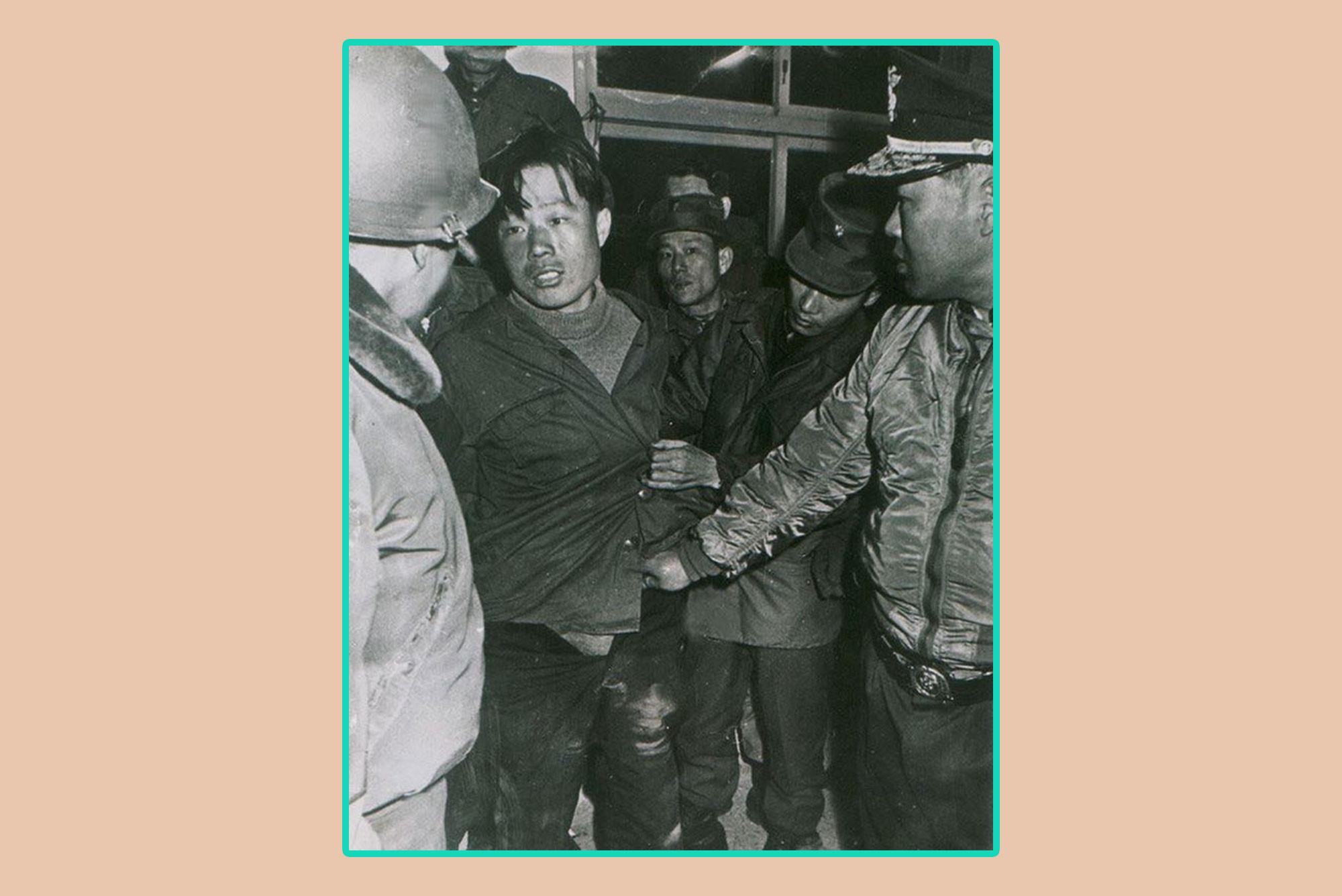 Взятие в плен Ким Син Чжо. Коллаж © L!FE Фото: © AP Photo