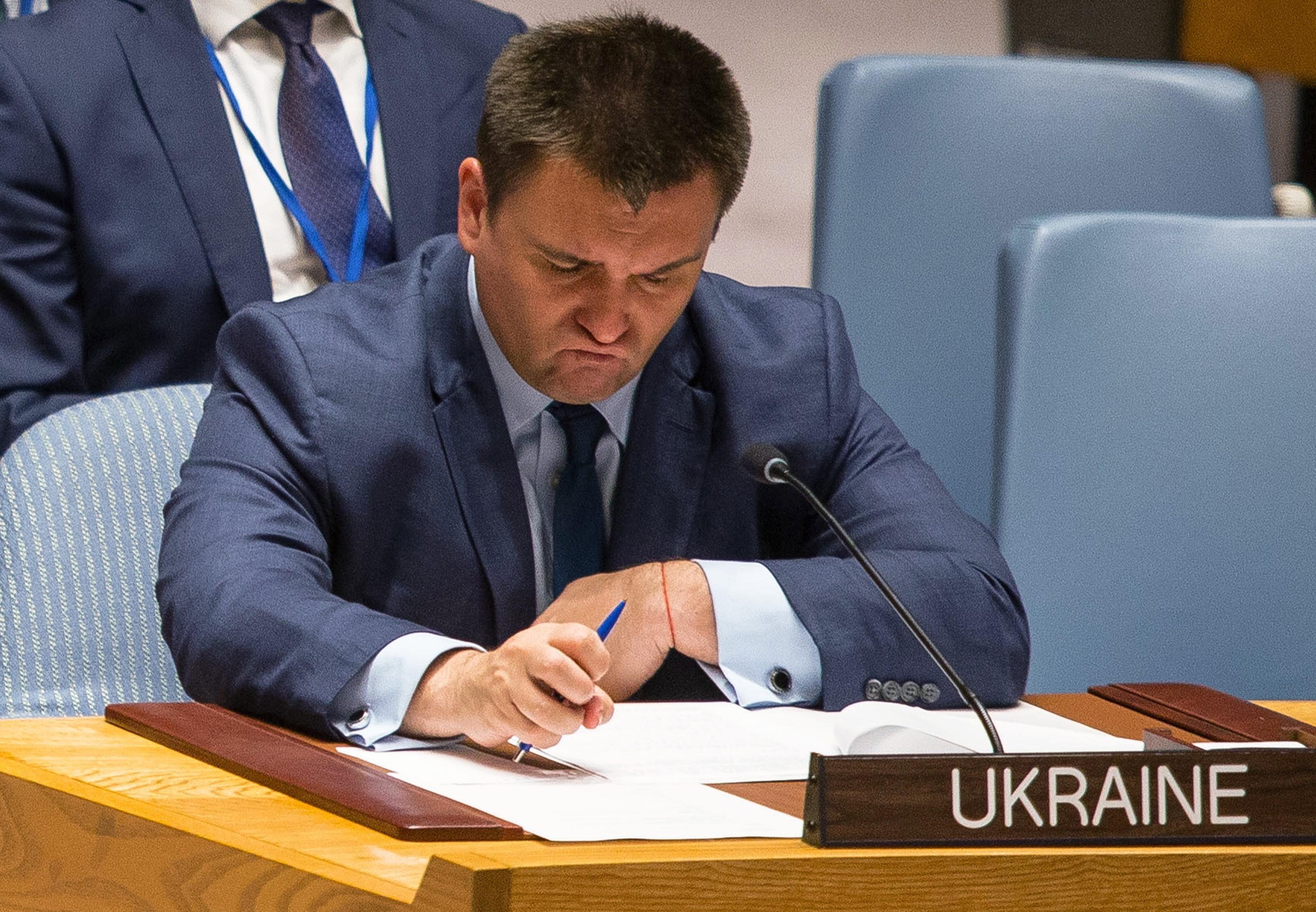 <p>Павел Климкин. Фото: &copy;РИА Новости/Нэнси Сисель</p>