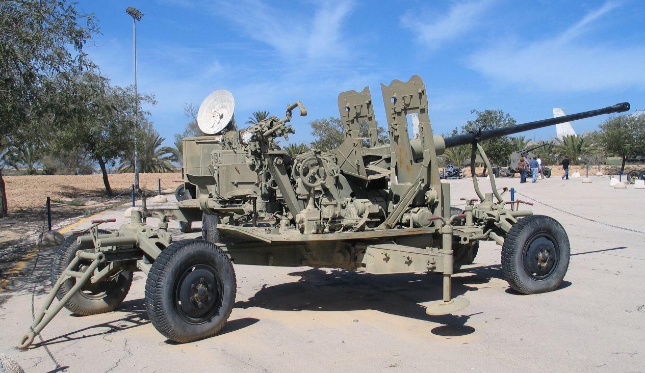 Зенитно-артиллерийский комплекс С-60. Фото: © Wikipedia.org
