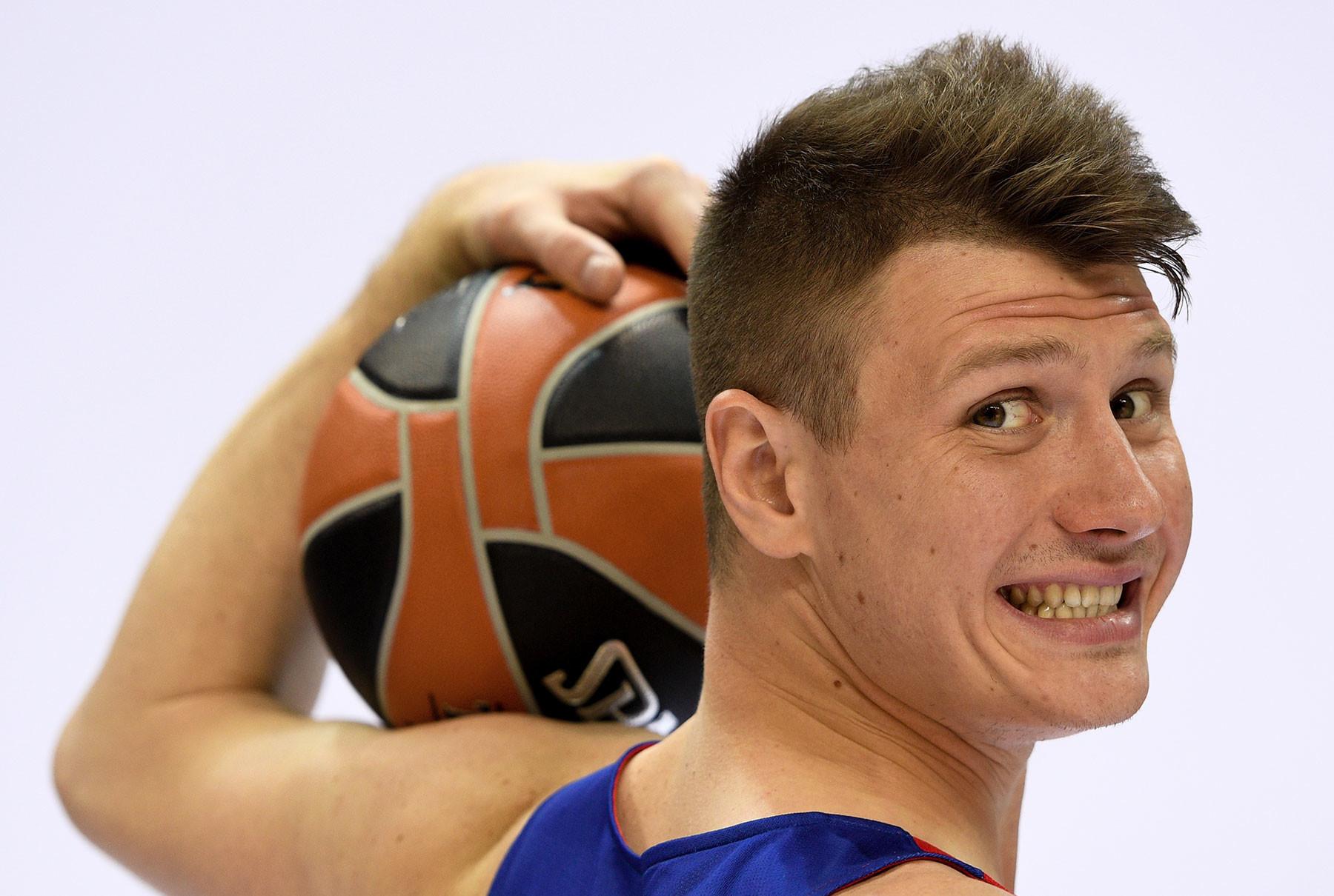 Игрок ПБК ЦСКА Андрей Воронцевич. Фото: © РИА Новости / Алексей Филиппов