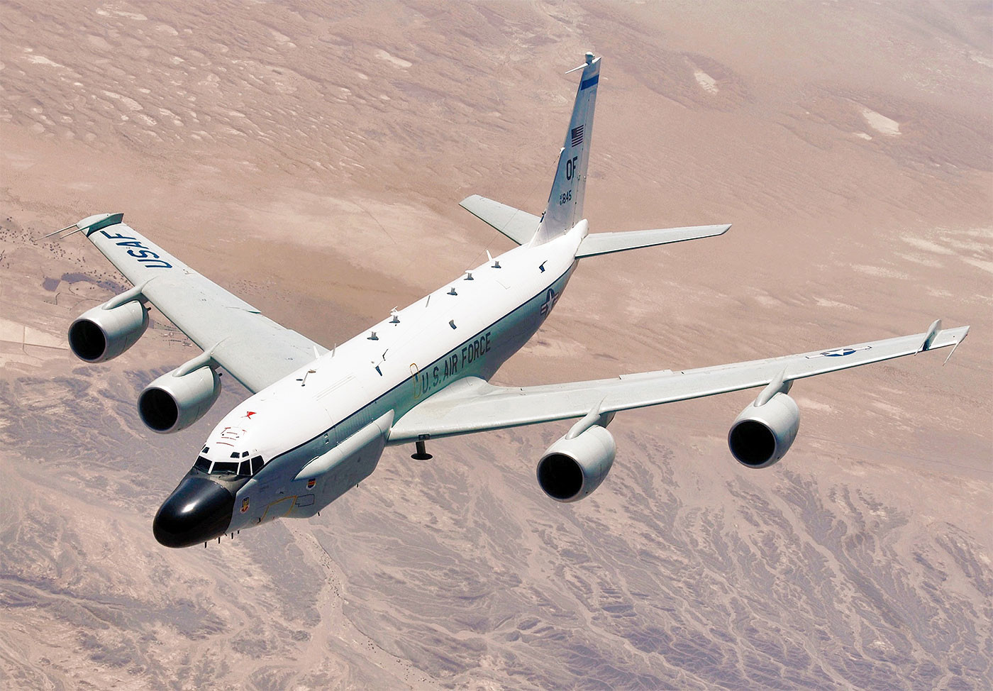 """Боинг""-разведчик (RC-135) Фото: © Wikipedia"