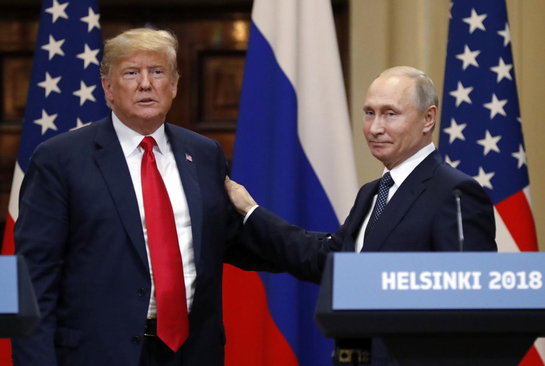 <p><span>Дональд Трамп и Владимир Путин. Фото: &copy; РИА Новости/Сергей Гунеев</span></p>
