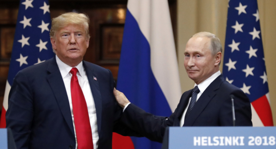 <p><span>Президент США Дональд Трамп и президент России Владимир Путин. Фото: &copy;РИА Новости/Сергей Гунеев</span></p> <div> <div> <div></div> </div> </div> <div> <div></div> </div>