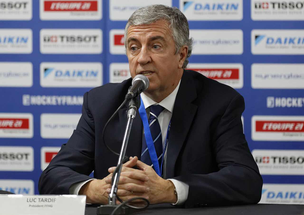 Глава Французской федерации хоккея Люк Тардиф. Фото: © Wikimedia Commons