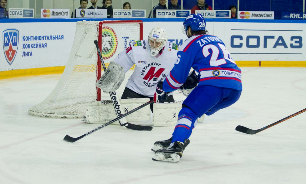 """Матч """"Лада"""" — """"Металлург"""" (Новокузнецк). Больше в КХЛ такого не будет. Фото: © ХК """"Лада"""""""