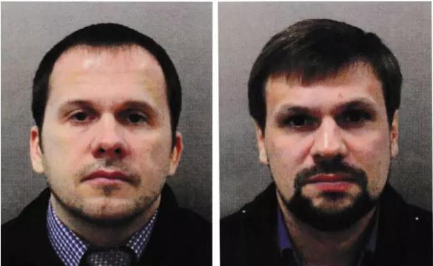 Александр Петров и Руслан Боширов. Фото: © met.police.uk