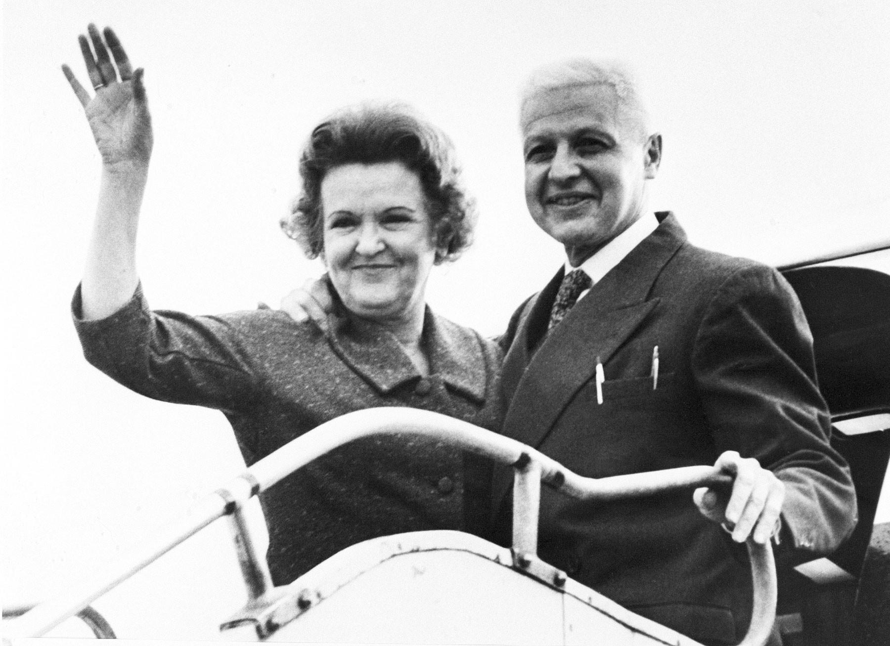 Супруги Моррис и Леонтина Коэн. Фото: © AP Photo