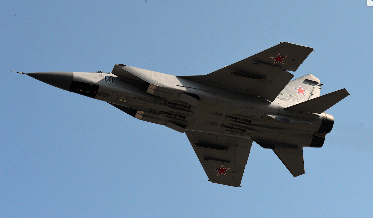 <p>МиГ-31.&nbsp;Фото: &copy;РИА Новости/<span>Виталий Аньков</span></p> <div> <div></div> </div>