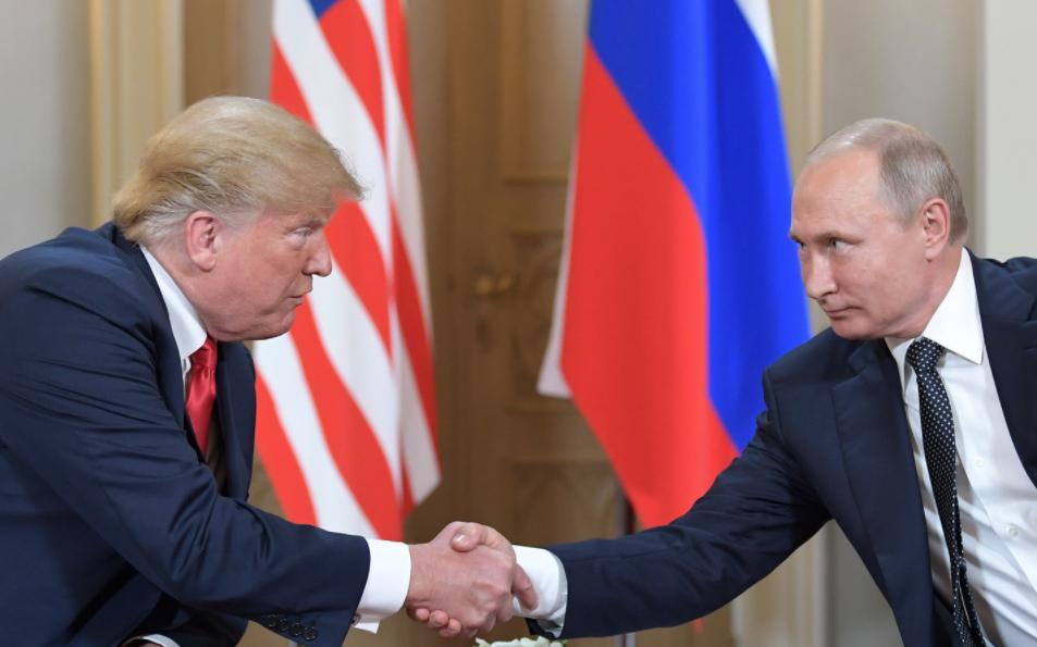 <p><span>Президенты США и России Дональд Трамп и Владимир Путин.&nbsp;Фото: &copy; РИА Новости/Сергей Гунеев</span></p> <div> <div> <div></div> </div> </div> <div> <div></div> </div> <div> <div> <div></div> </div> </div>