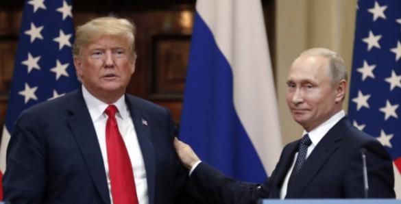 <p><span>Президент США Дональд Трамп и президент России Владимир Путин. Фото: &copy;РИА Новости/Сергей Гунеев</span></p> <div> <div></div> </div>