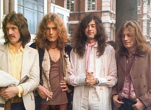 <p>Джон Бонэм, Роберт Плант, Джимми Пейдж, Джон Пол Джонс (слева направо). Фото: ledzeppelin.com</p>