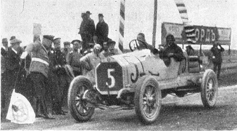 Георгий Суворин после Гран-при России 1913 г.. Фото: © Wikimedia Commons