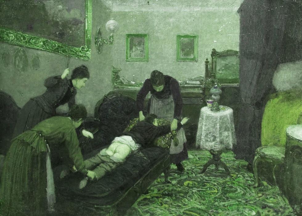 "Картина Павла Ковалевского ""Порка"" (1880 г.). Фото: © wikipedia.org"