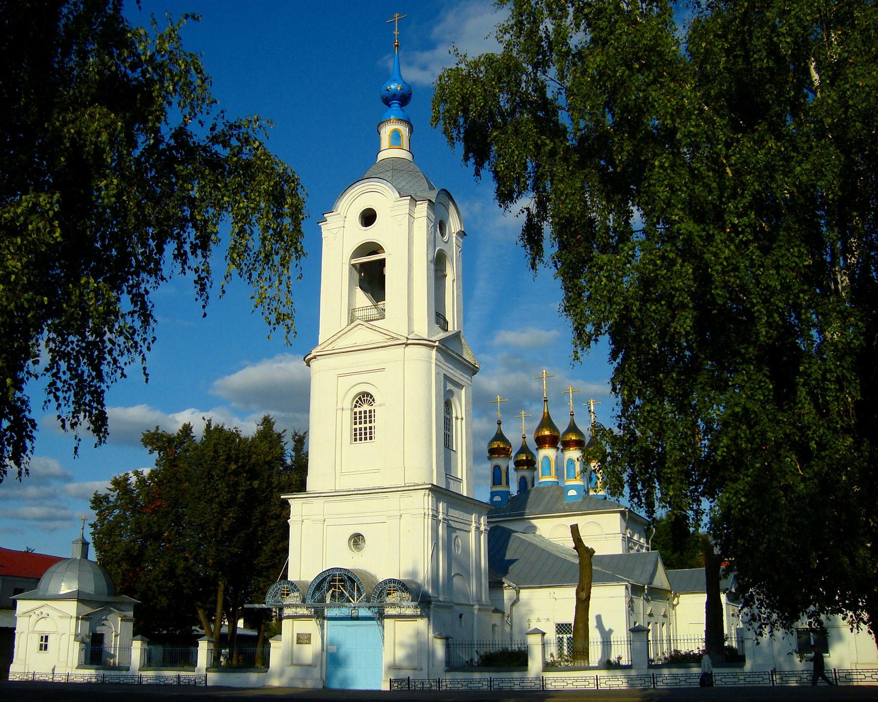 Кафедральный собор Покрова Божией Матери. г. Покров, Владимирская область. Фото: © Wikipedia.org