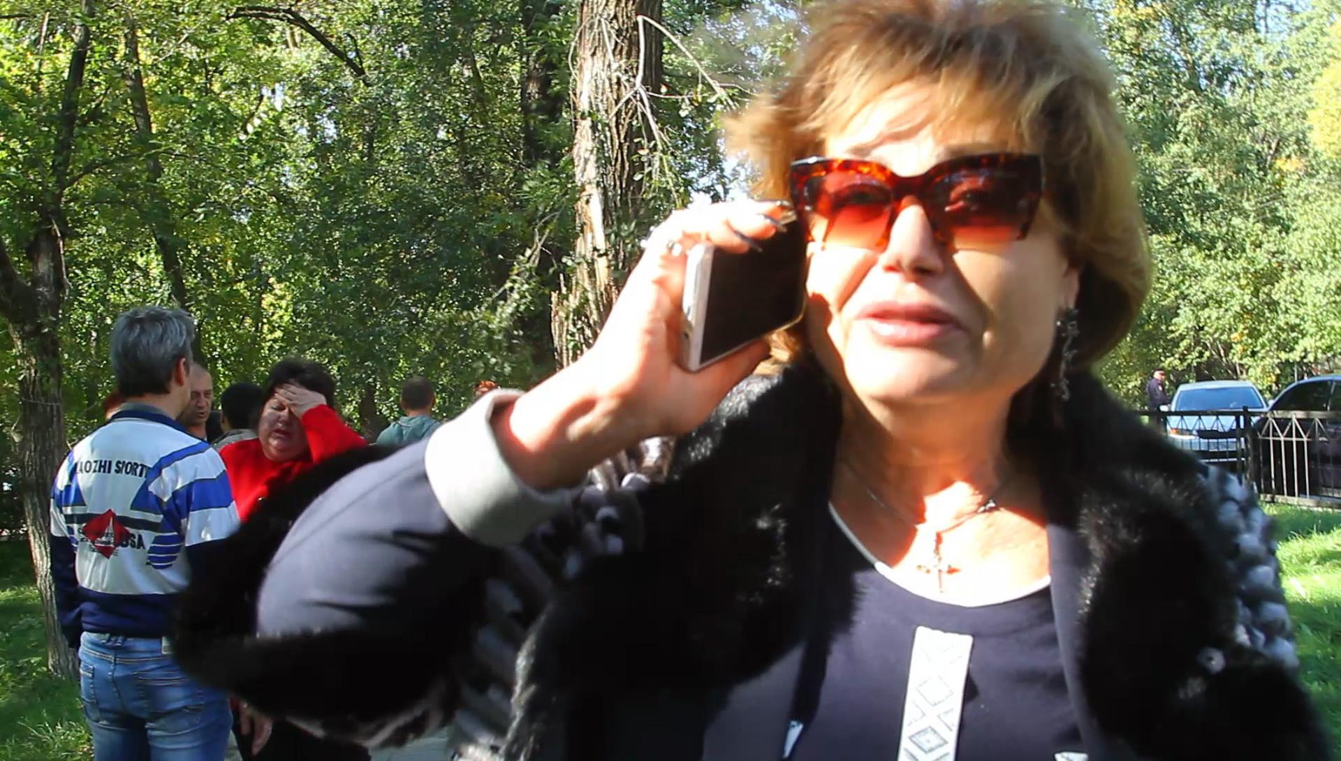 Директриса Керченского политехнического колледжа Ольга Гребенникова. Фото: © РИА Новости / Мария Крицкая