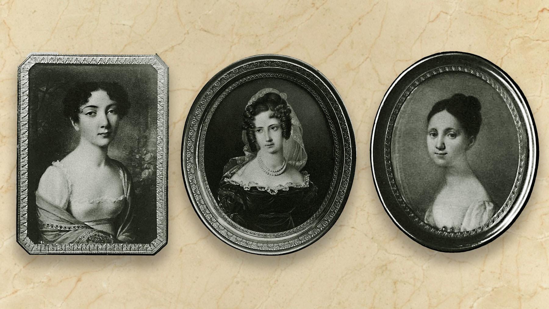 Теофила Радзивилл, Елизавета Александровна, Елизавета Николаевна. Фото: © Википедия