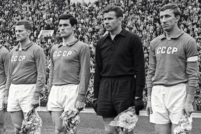 Яшин в сборной СССР. Фото: Соцсети