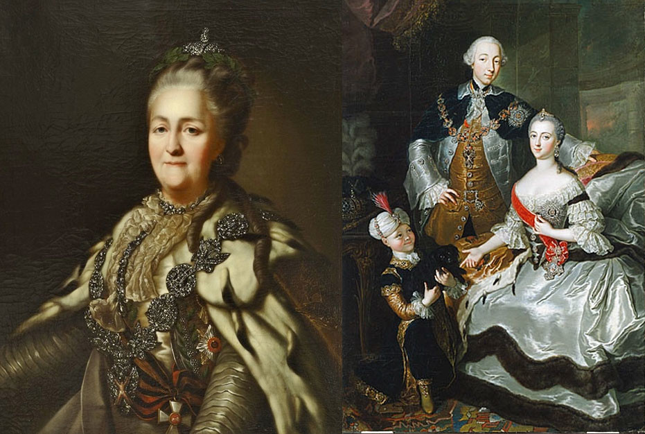 Екатерина II. Фото: Википедия