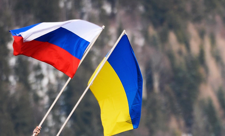<p><span>Флаги России и Украины. Фото: &copy; РИА Новости/Александр Вильф</span></p>