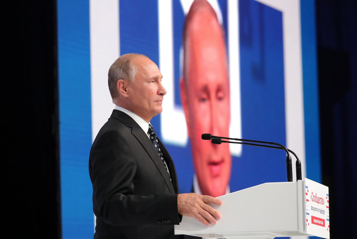"<p>Владимир Путин. Фото: &copy; РИА ""Новости"" /&nbsp;Михаил Климентьев</p>"