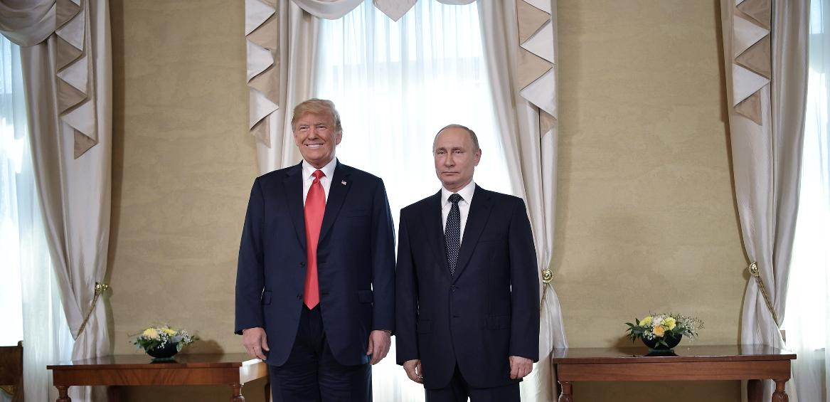 <p><span>Президенты США и России Дональд Трамп и Владимир Путин.&nbsp;Фото: &copy; РИА Новости/Алексей Никольский</span></p>