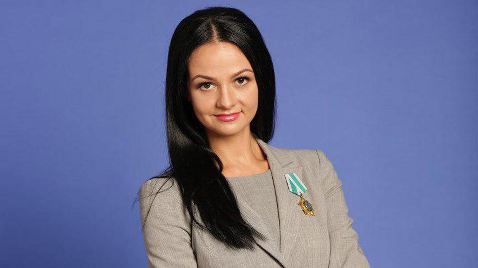 <div></div> <p>Ольга Глацких. Фото: &copy;sverdlovsk.er.ru</p>