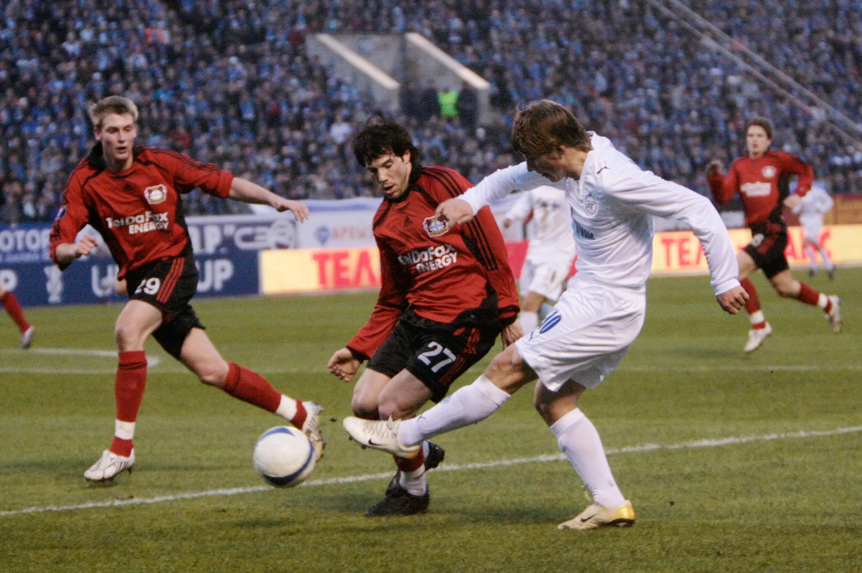 """Аршавин против """"Байера"""" в 2008 году. Фото: © РИА Новости/Алексей Даничев"""