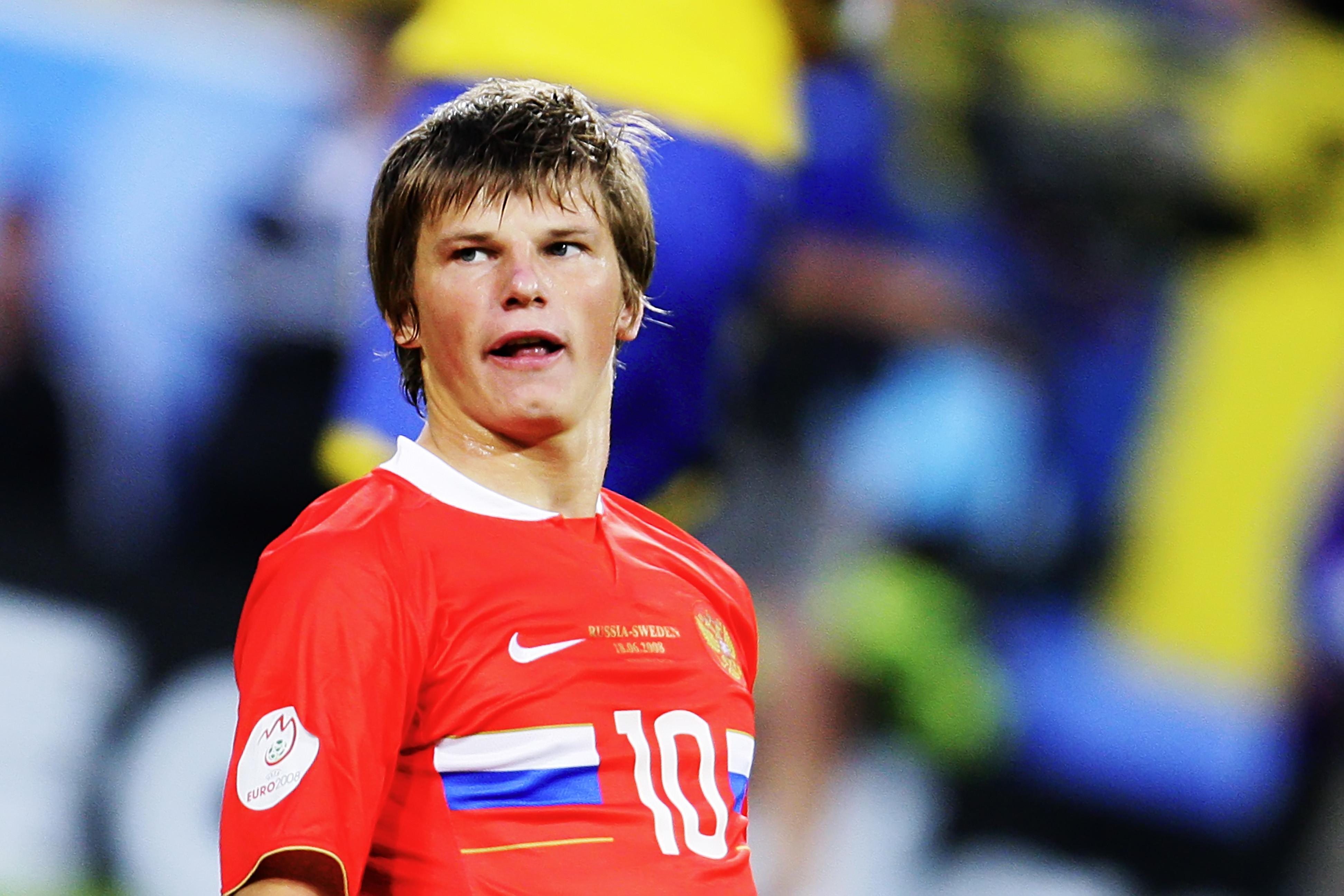 Аршавин на Евро-2008. Фото: © РИА Новости/Антон Денисов