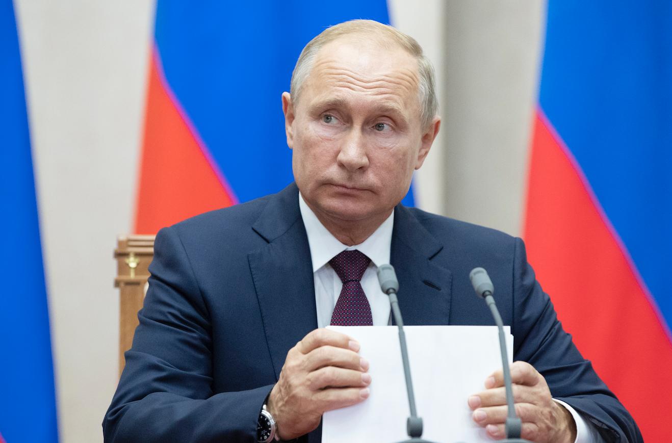 <p>Владимир Путин.&nbsp;<span>Фото:&copy; AP Photo/Pavel Golovkin</span></p> <div> <div></div> </div>