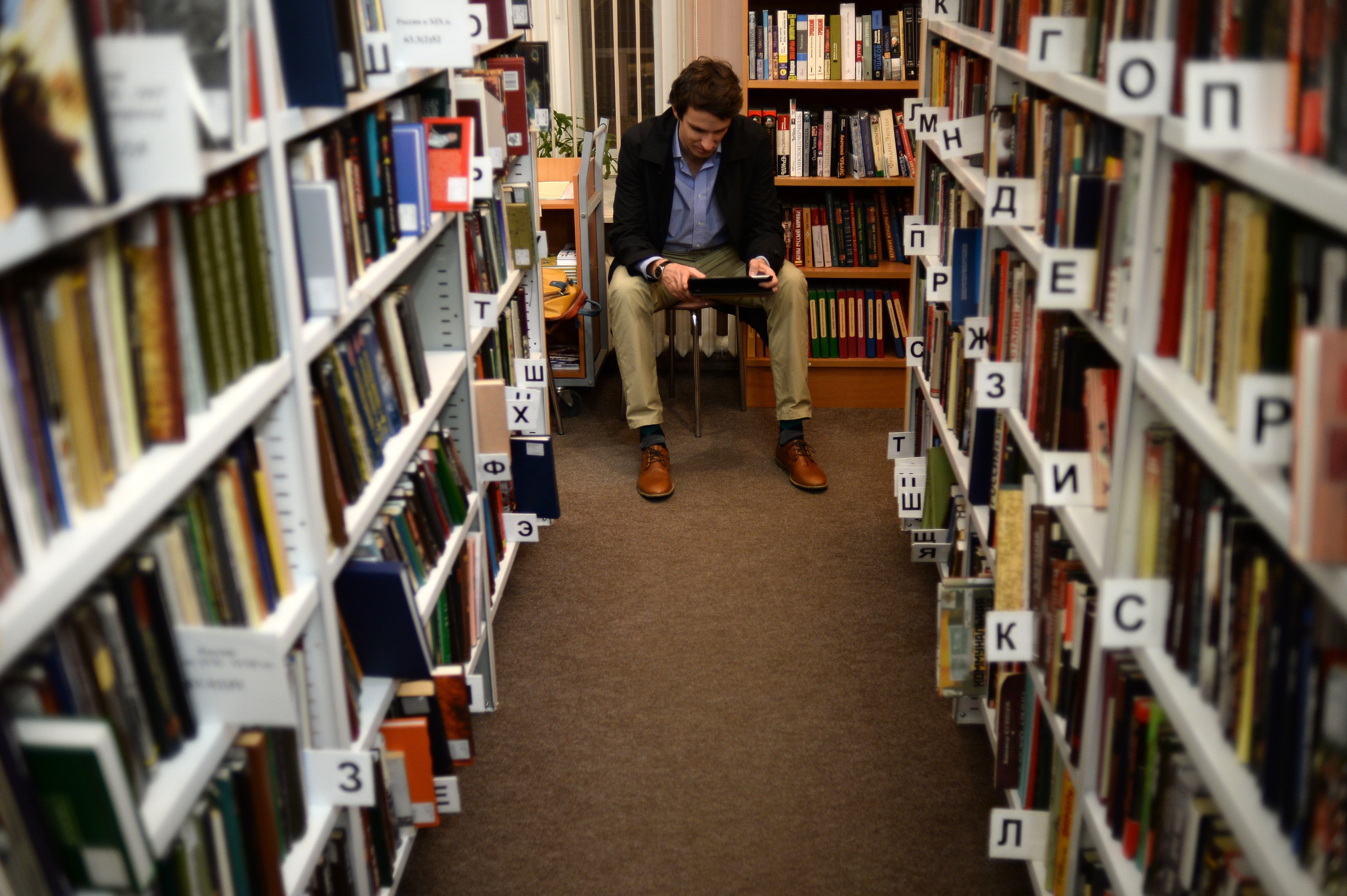 <p><span>Библиотека-читальня им. И.С. Тургенева.&nbsp;</span>Фото: &copy;РИА Новости/Максим Блинов</p>