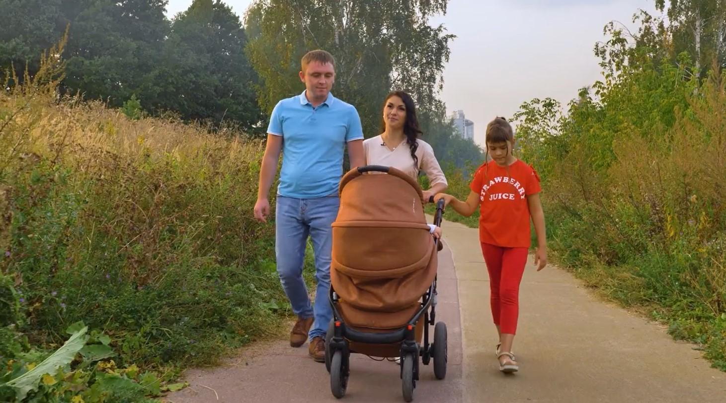 """Семья Жирновых. Фото предоставлено """"Столото"""""""