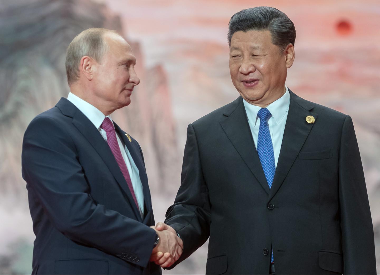 <p><span>Владимир Путин и Си Цзиньпин. Фото: &copy; РИА Новости / Сергей Гунеев</span></p>