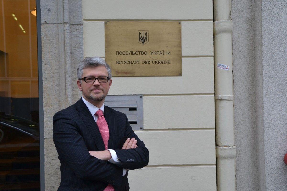 <p><span>Посол Украины в Германии Андрей Мельник. Фото: germany.mfa.gov.ua</span></p>