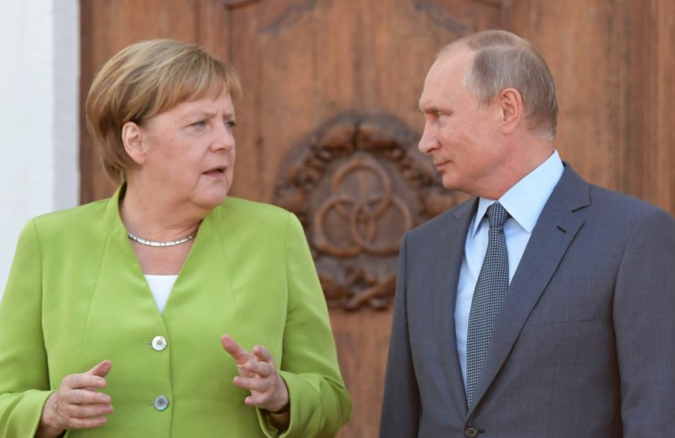<p>Ангела Меркель и Владимир Путин. Фото: &copy; РИА Новости/Сергей Гунеев</p> <div> <div> <div></div> </div> </div>