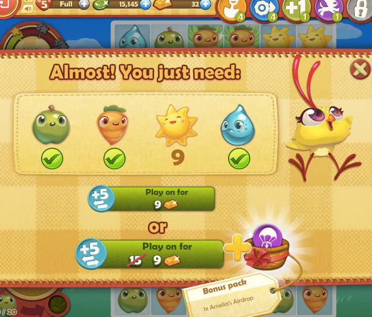 Кадр из игры Farm Heroes Saga
